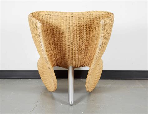 marc newson wicker chairs for sale at 1stdibs