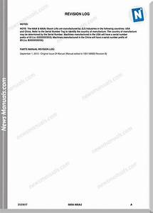 Jlg 600a And 600aj Illustrated Parts Manual