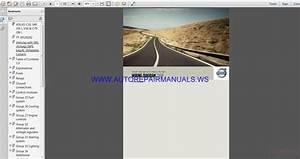 Volvo C30 S40 V50 C70 Tp39129202 Wiring Diagram Manual