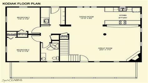 log cabin floor plans  loft log cabin floor plans   square feet cabins plans