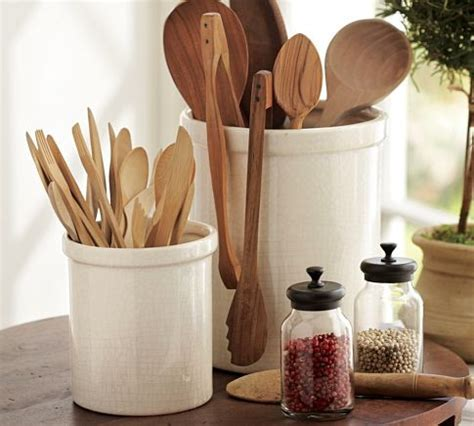 organize cabinets in the kitchen kitchen crock modern utensil holders and racks 7215