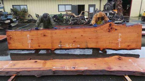 rustic countertops bars live edge countertop redwood