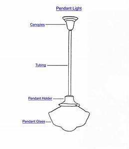 Pendant Light Diagram