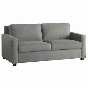 henry sofa heather grey microfiber living room With heather grey sectional sofa
