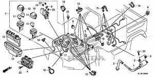 Honda Side By Side 2009 Oem Parts Diagram For Wire Harness