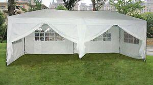 mcombo  ft ez pop   walls canopy party tent gazebo  sides white ebay