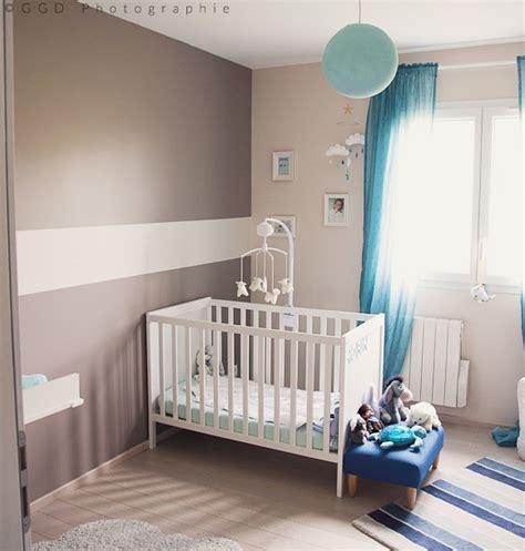 chambre bébé bleu la chambre bébé de robin décoration bébé et enfant