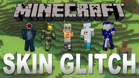 minecraft xbox  unlock locked skins glitch youtube
