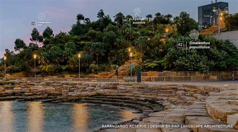 pwp landscape architecture renews sydneys waterfront  barangaroo vectorworks design