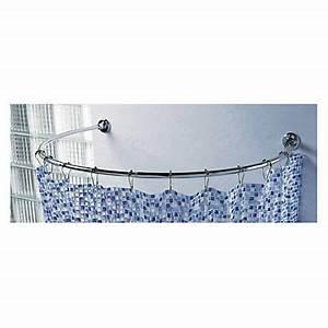 Barre De Baignoire D Angle A Ventouse : barre de douche circulaire saturne chrom castorama ~ Premium-room.com Idées de Décoration