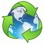Icon Recycle Vector Crystal Earth 1703 1995