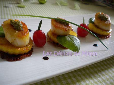 recette cuisine italienne gastronomique noix de jacques dolce vita les délices de mimm