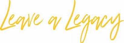 Legacy Leave Community Education Lift