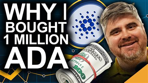 Why I Bought 1 Million ADA (BEST Cardano Price Predictions ...