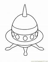 Coloring Pages Ufo Printable Space Colouring Coloringpages101 Transport Sightings Pdf Library Clipart sketch template