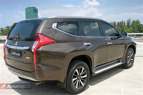 pajero jeep 2016 all new pajero sport 2016 indonesia rear autonetmagz