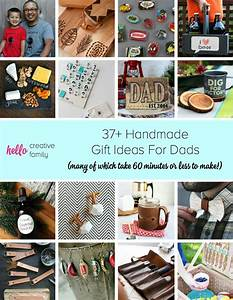 37+ Handmade Gift Ideas For Dads (many of which take 60