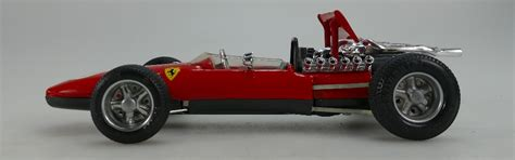 Box, key and wrench included. Schuco 1073 Ferrari Formel 2 boxed