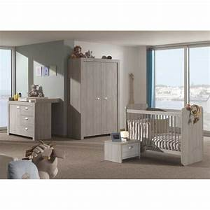 Chambre Bébé Moderne : chambre compl te b b chambre moderne pour b b avec lit volutif ~ Melissatoandfro.com Idées de Décoration