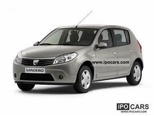 Dacia Sandero 2010 : 2010 dacia sandero 1 2 16v aniversare servo abs 2 airb r cd car photo and specs ~ Gottalentnigeria.com Avis de Voitures