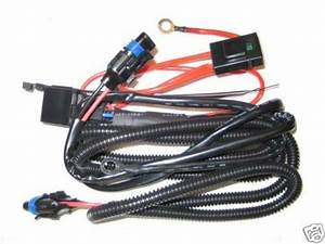 2015 2016 Mustang Fog Light Wiring Harness For Base V6 And
