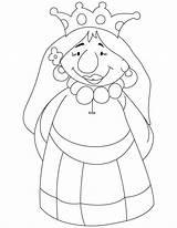 Queen Coloring Cartoon Drawing Bee Getdrawings Romeo Juliet Mab sketch template