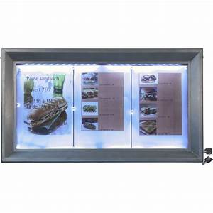 Panneau Led Pour Cuisine : panneau lumineux led pour caf s et restaurants gris ~ Edinachiropracticcenter.com Idées de Décoration
