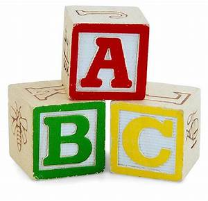 Alphabet letter parade brennaphillipscom for Children s letter blocks