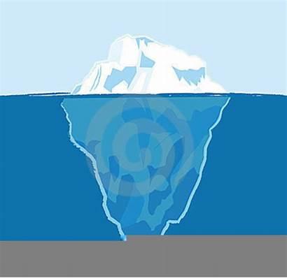 Iceberg Clipart Tip Domain Clker Clip Vector