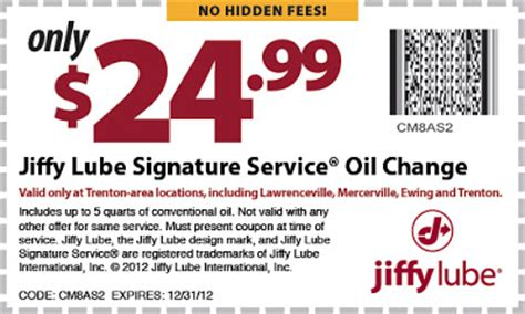Mobil1 Us Onlineform >> Quick Stop Lube Coupons