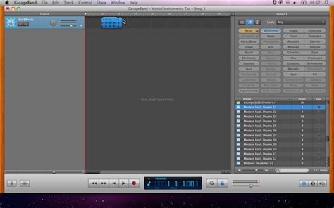 Garageband Track by Garageband Part 2 Creating A Simple Song With
