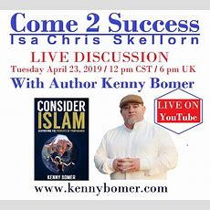 Come 2 Success (isa Chris Skellorn) Live Discussion W Author Kenny Bomer