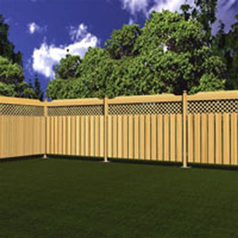 Backyard Trolines by Bfd Rona Products Diy Build A Treated Wood Fence