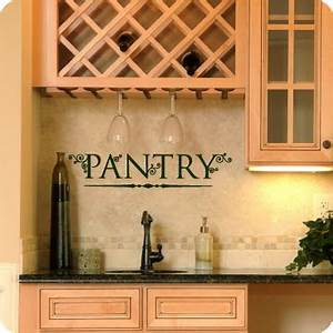Kitchen Wall De... Pantry Quotes