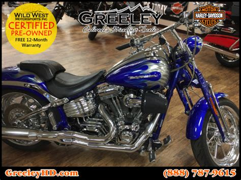 Harley Davidson Fxstsse Cvo Softail Springer Motorcycles