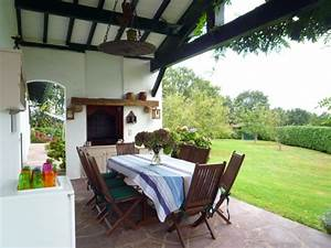 maison pour 8 personnes a ascain avec piscine et vue With location villa pays basque avec piscine