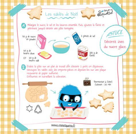 recette dessert pour enfant recette sabl 233 s de no 235 l atelier no 235 l et