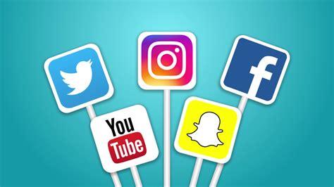Digital Social Media Wallpaper by Social Media Icons Ae Project 4k 3840x2160 Storyblocks