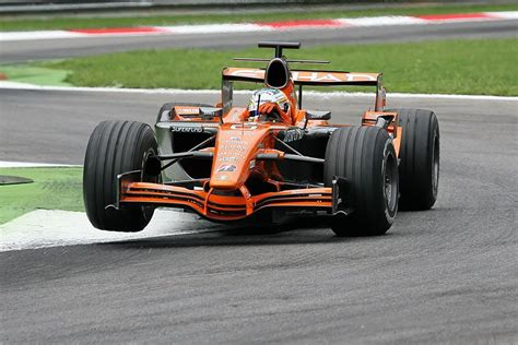 Lived in redmond and terrebonne, or. 084 · 2007 · Monza · Spyker-Ferrari F8-VIIB · Adrian Sutil   Force india, F1 racing, Racing