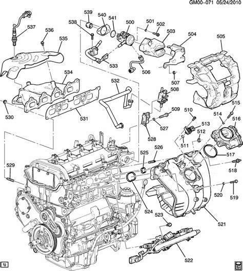 Engine Asm Part Manifolds Fuel Related Parts