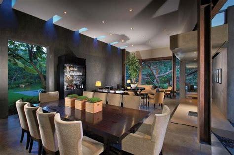 chaise salle a manger contemporaine salle à manger contemporaine plafonnier avec éclairage led table à manger en bois massif et
