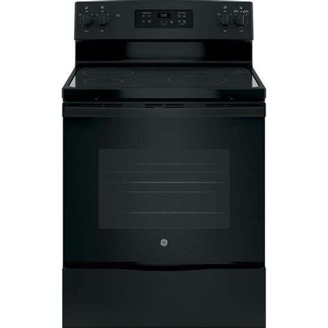 home depot standing ls ge 30 in 5 3 cu ft free standing electric range in
