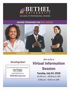 Virtual Information Session | Bethel University