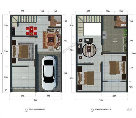 ide desain interior rumah minimalis type