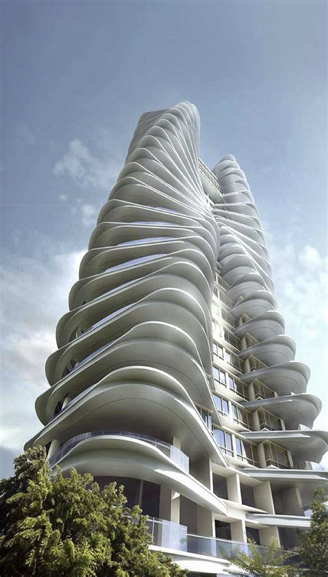 Ferrell Residences Iconic Architecture Singapore New