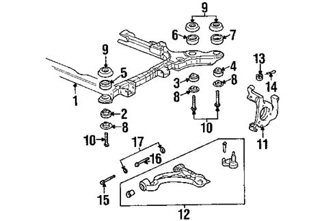 Cadillac Front Suspension Suspension Mounting