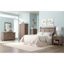 sauder harbor view 6 bedroom set salt oak furniture walmart com