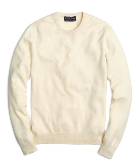 crewneck sweater lyst brothers crewneck sweater in