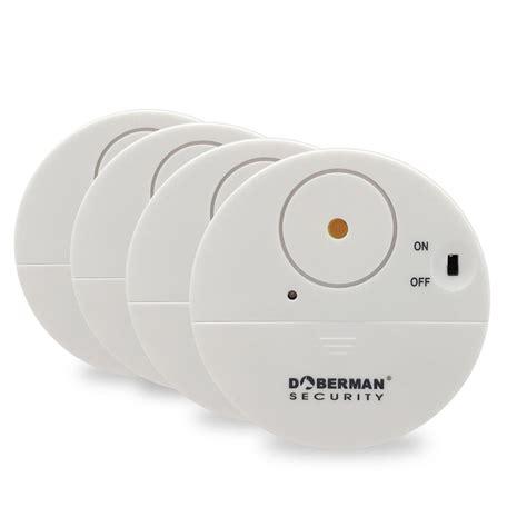 window alarms home depot doberman security ultra slim window alert white 4 pack 1539