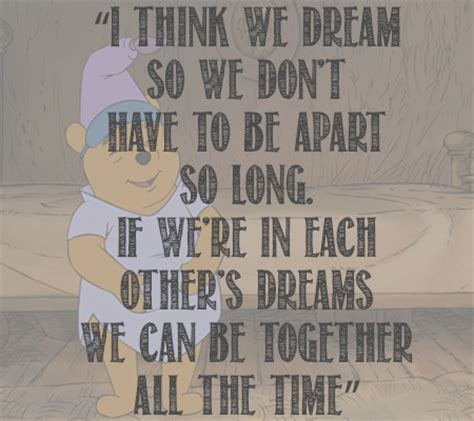Winnie the Pooh Quotes About Dreams